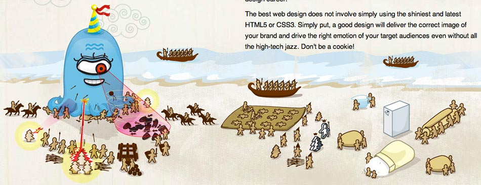 35 Examples of HTML5 Portfolio Sites on Best Design Web Gallery