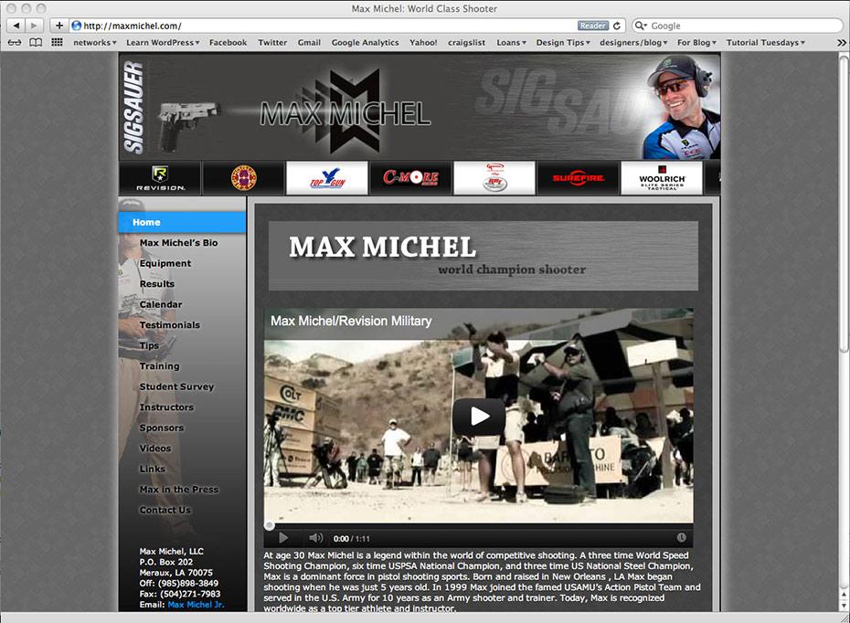Max Michel: Home