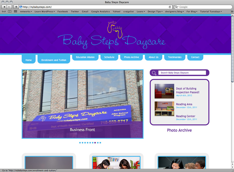 NY BabySteps Daycare: Home