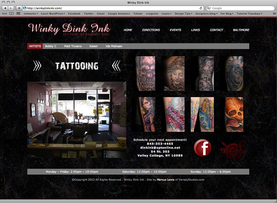 Winky Dink Ink: Home
