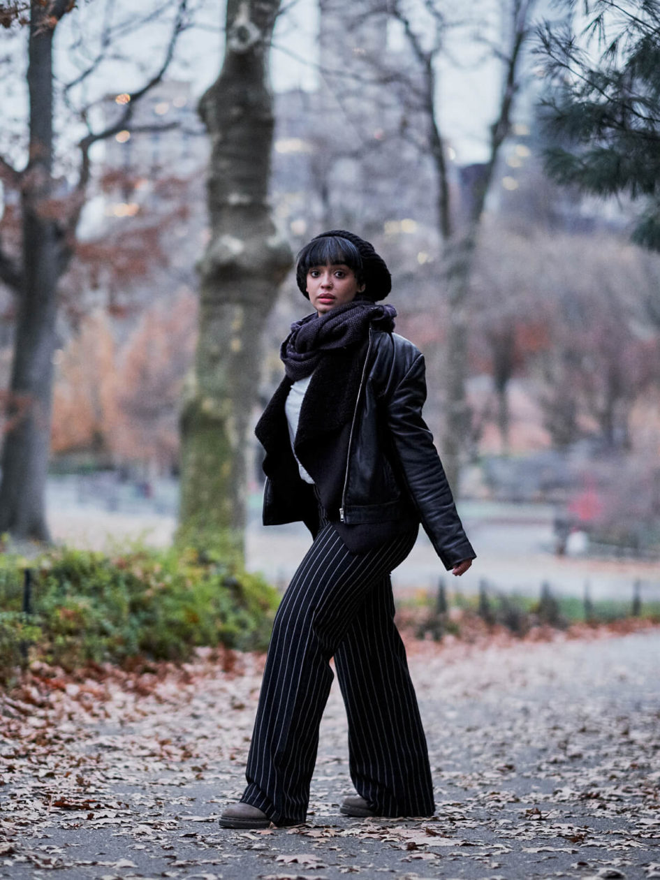 Fuji X Pro2 with xf 56mm f1.2 - Photography Storytelling - Women's fashion portrait photography in Central Park New York - Model: Lulu