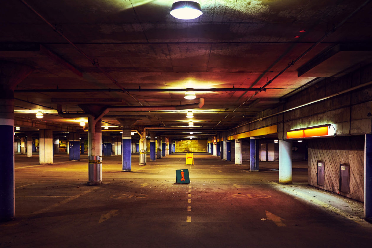 FujiFilm X100T - Montreal Olympic Stadium Parking Garage
