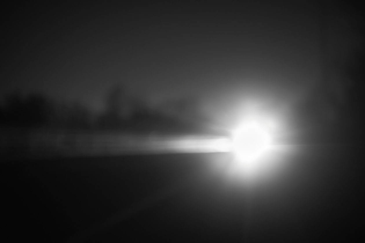 FujiFilm X100T - Long Exposure Night Photography Car Light Trails