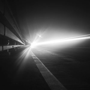 FujiFilm X100T - Long Exposure Night Photography Car Light Trails
