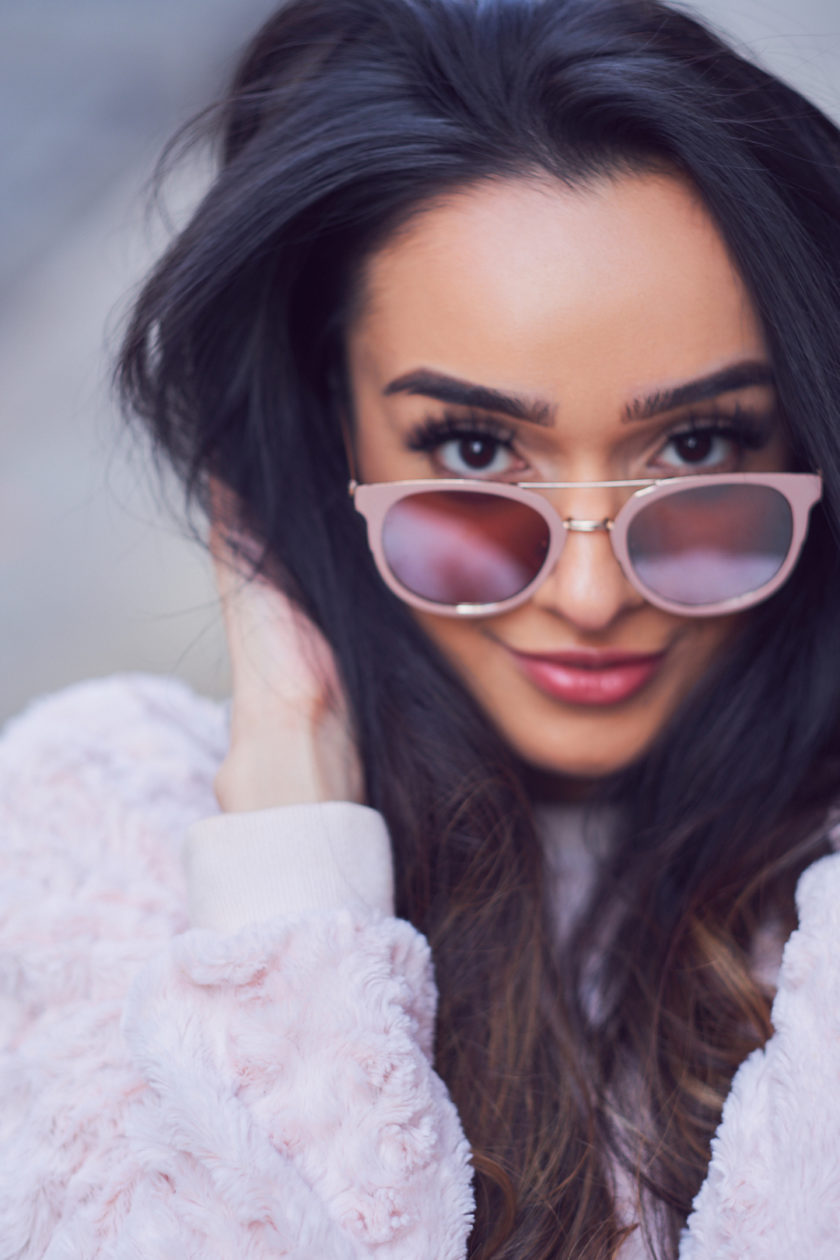 Fuji X Pro2 with xf 56mm f1.2 - Portrait Beauty Fashion Photography with Ramsha at Sweet Time Dessert Cafe in New York City