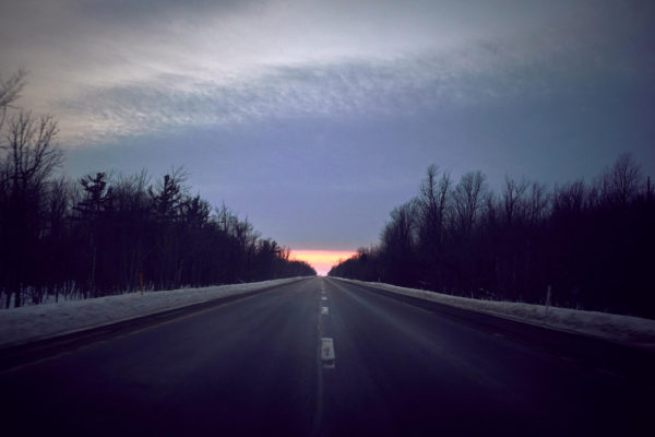 Fuji x100T - Roadtrip to Syracuse New York - Symmetry on the highway