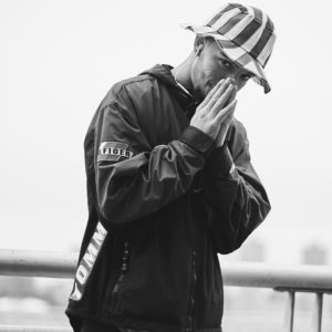 Fuji X Pro2 with xf 56mm f1.2 - Black and White Men's Fashion Photography in Riverside Park New York - Model: Demetric