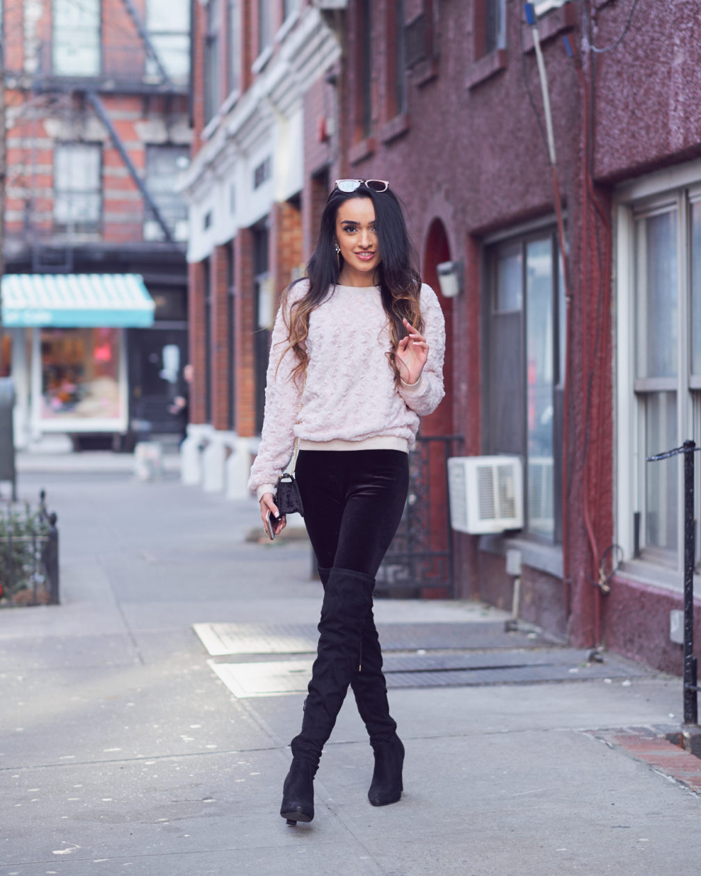 Fuji X Pro2 with xf 56mm f1.2 - Portrait Lifestyle Fashion Photography with Ramsha at Sweet Time Dessert Cafe in New York City