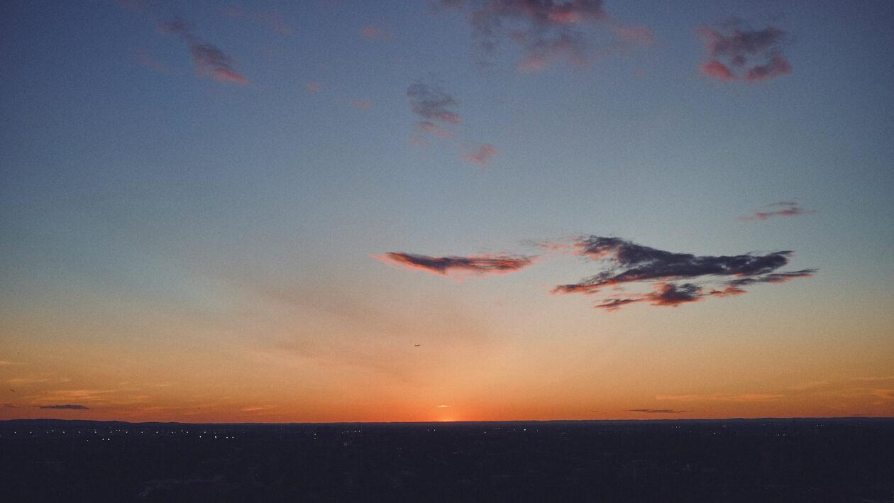 FujiFilm X100T - Sunset on Balcony in Montreal